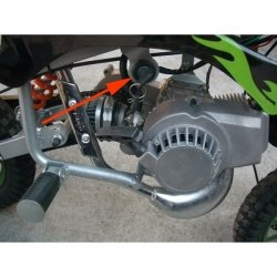 STACYJKA POCKET DIRT BIKE MINI MOTOREK QUAD CZĘŚCI