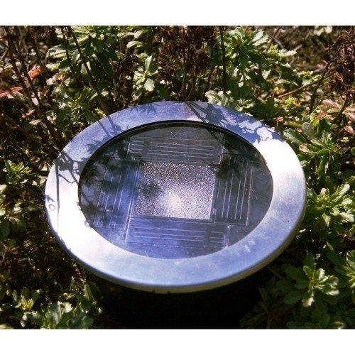 Lampa Solarna Led Najazdowa Do Zabudowy Czujnik